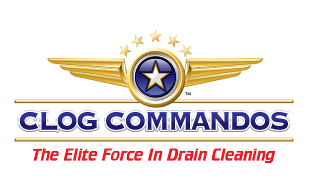 Clog Commandos Drain Cleaning Logo