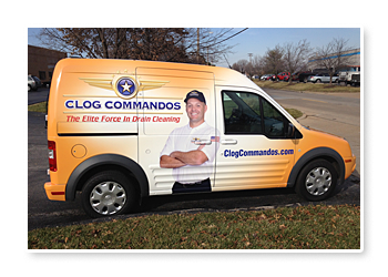 Clog Commandos Contractor Truck Graphics