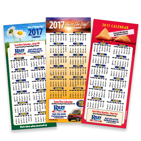 Contractor Calendar Promotional Magnets