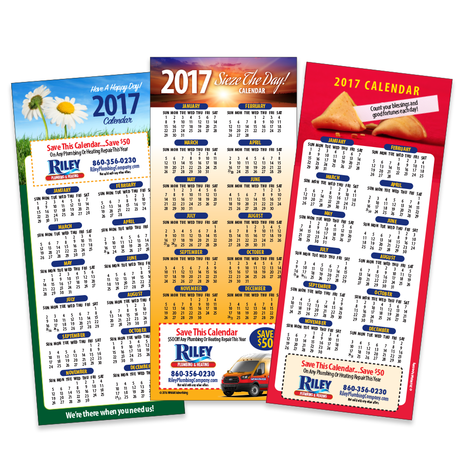 Contractor Calendar Promotional Magnets 2