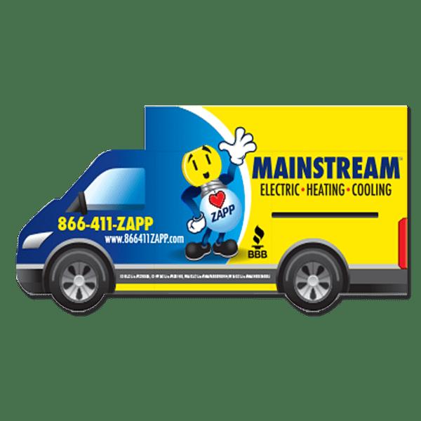 Controur Cut Truck Magnets