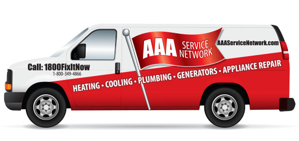 AAA Service Network Truck Graphics