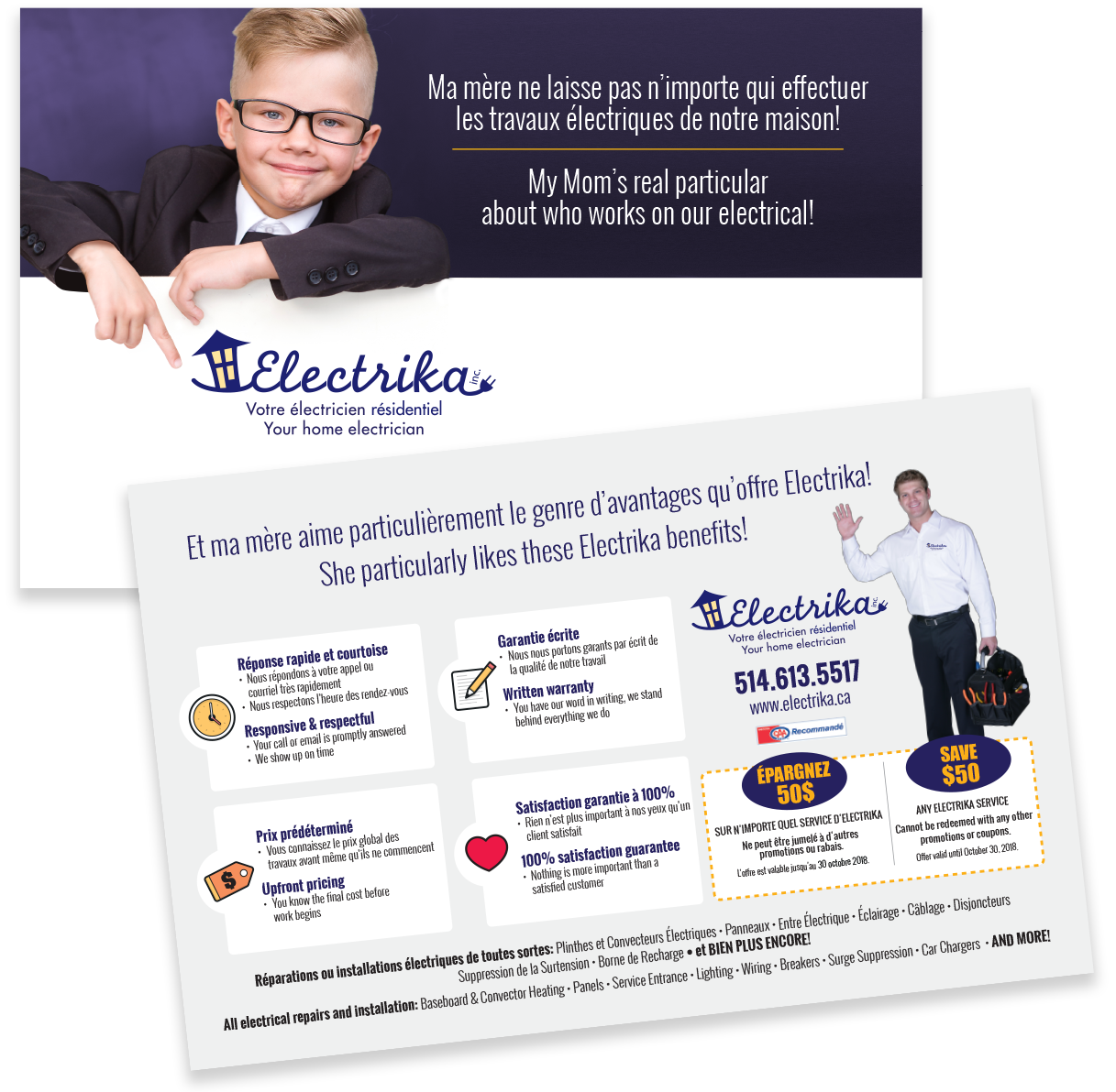Electrika Direct Mail