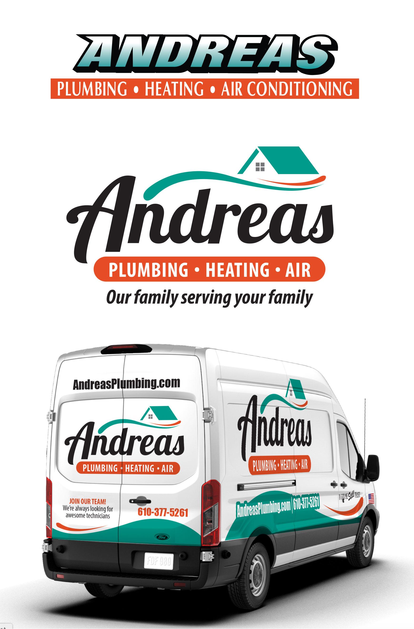 Andreas Logo & Truck Design