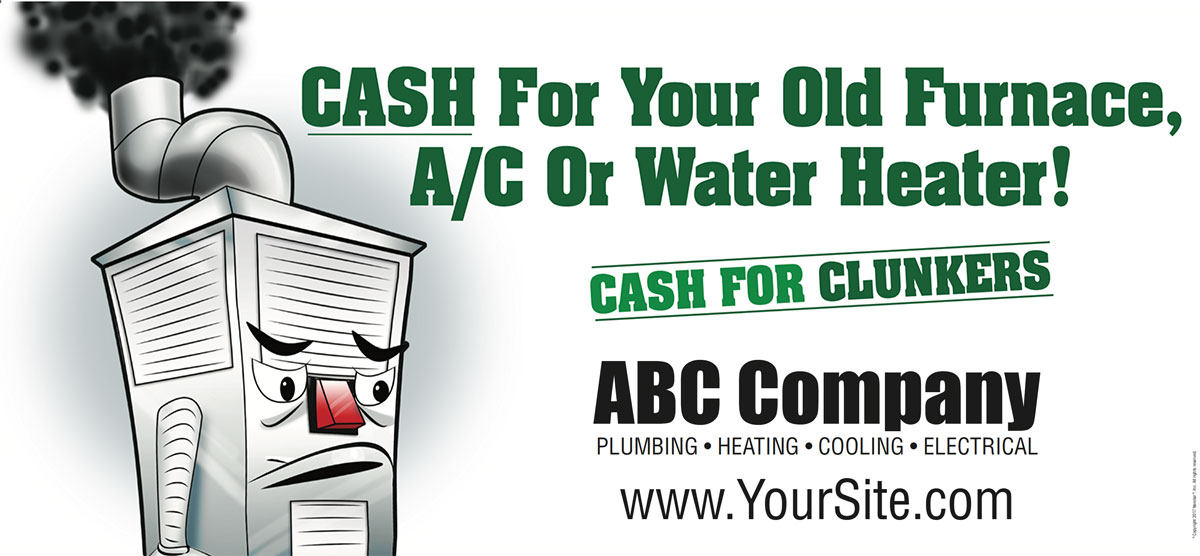 HVAC Contractor Billboard
