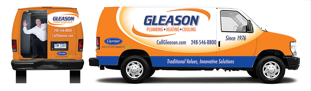 Plumber Contractor Truck Graphics