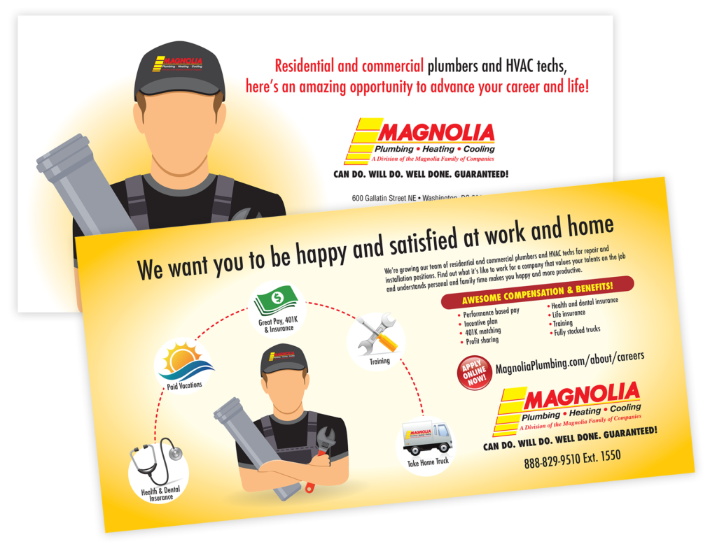 Trades Recruiting Plumbers, HVAC, Electricians