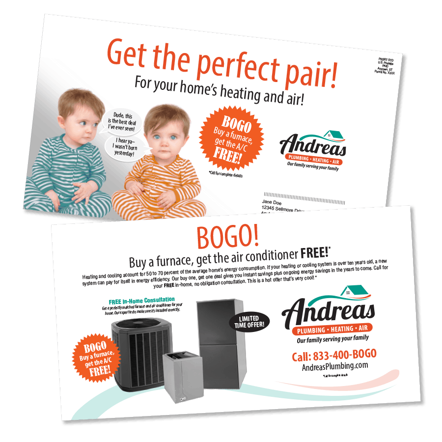 BOGO Furnace And AC Offer
