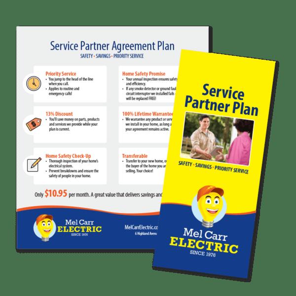 Contractor Maintenance Plan Brochure / Leave Behind