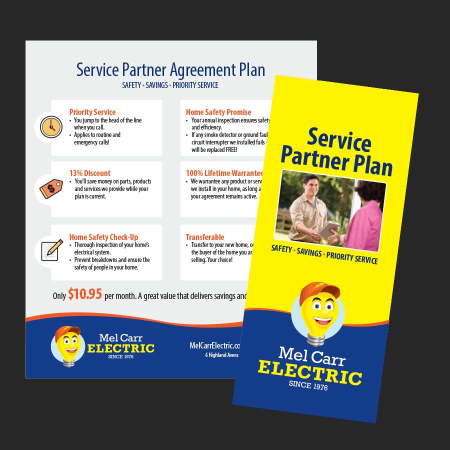 Maintenance Plan Brochure / Leave Behind
