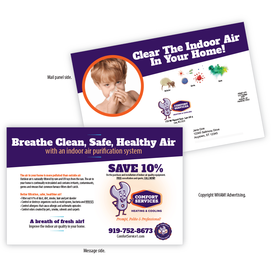 Indoor Air Quality Direct Mail