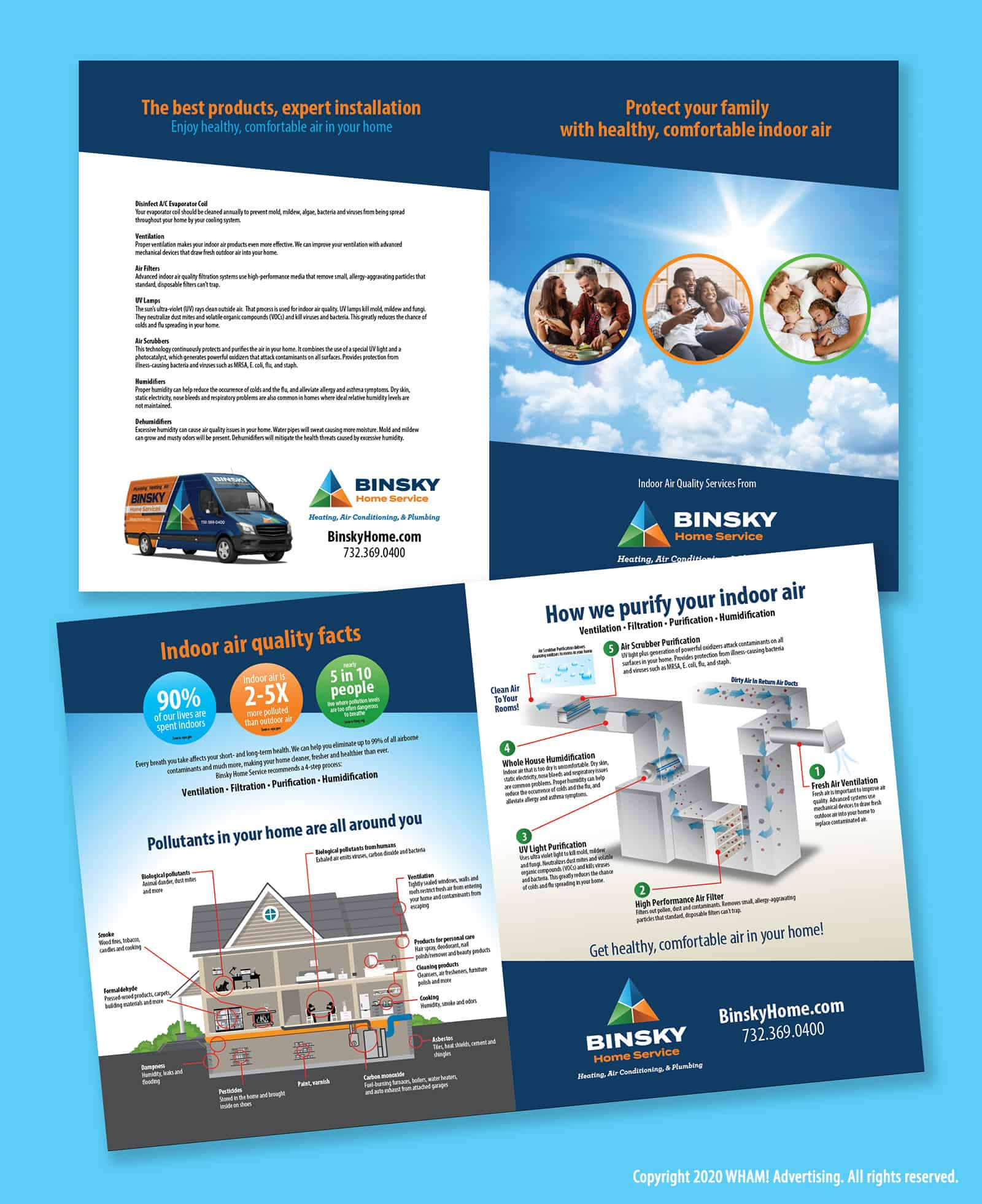Indoor Air Quality Brochure Marketing