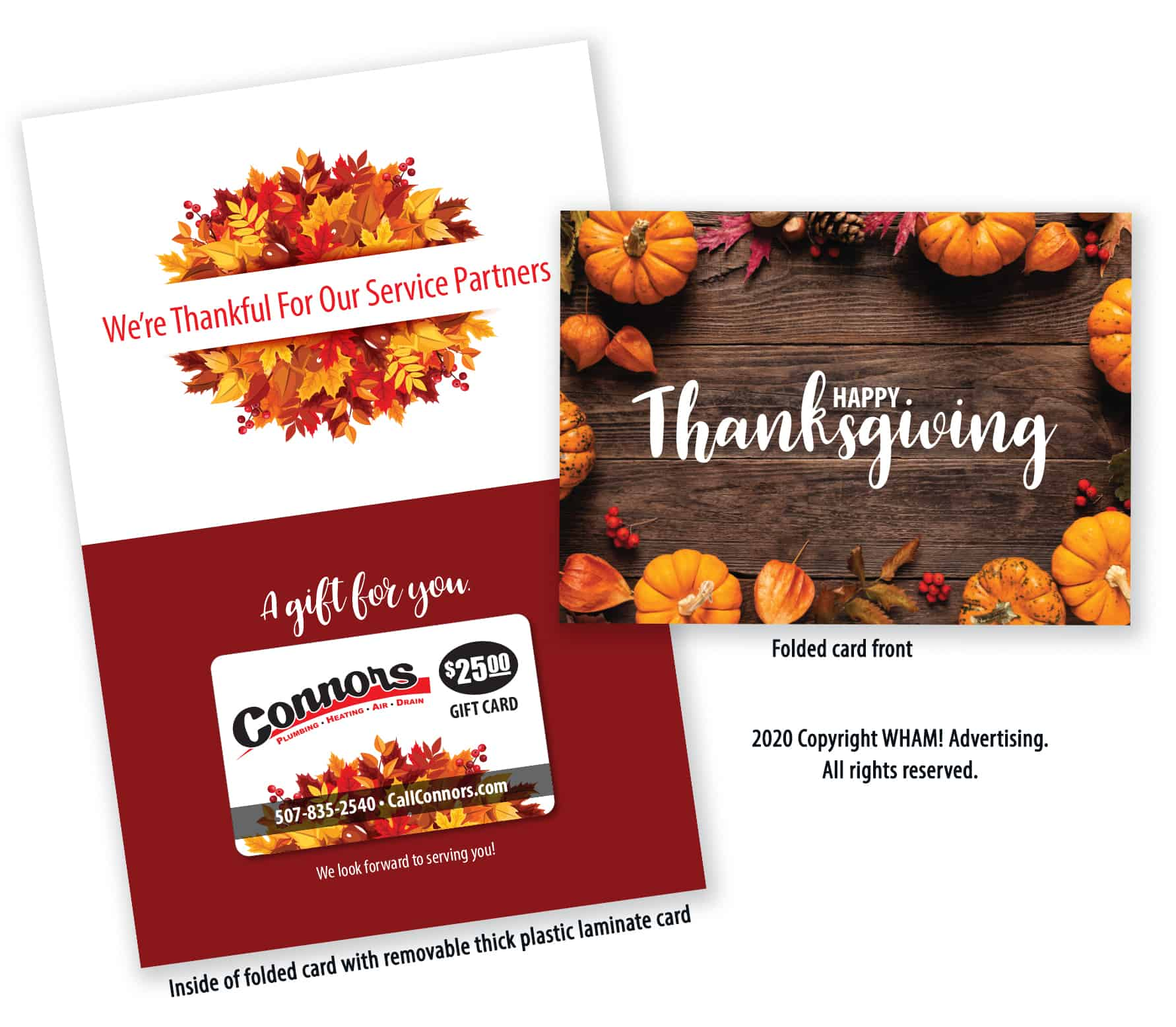 Contractor Holiday Gift Marketing Package