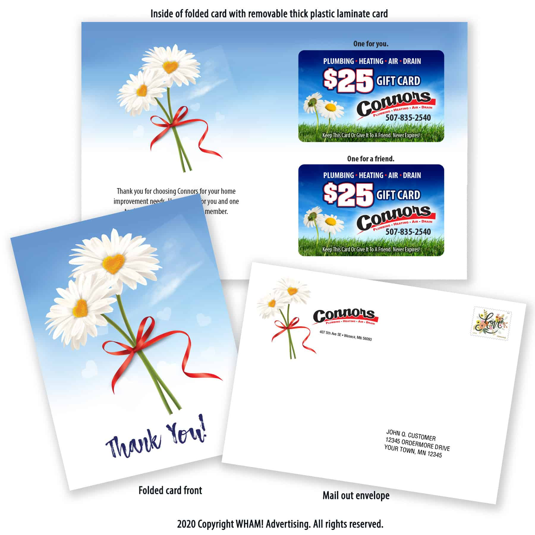 Contractor Gift Card Marketing Package