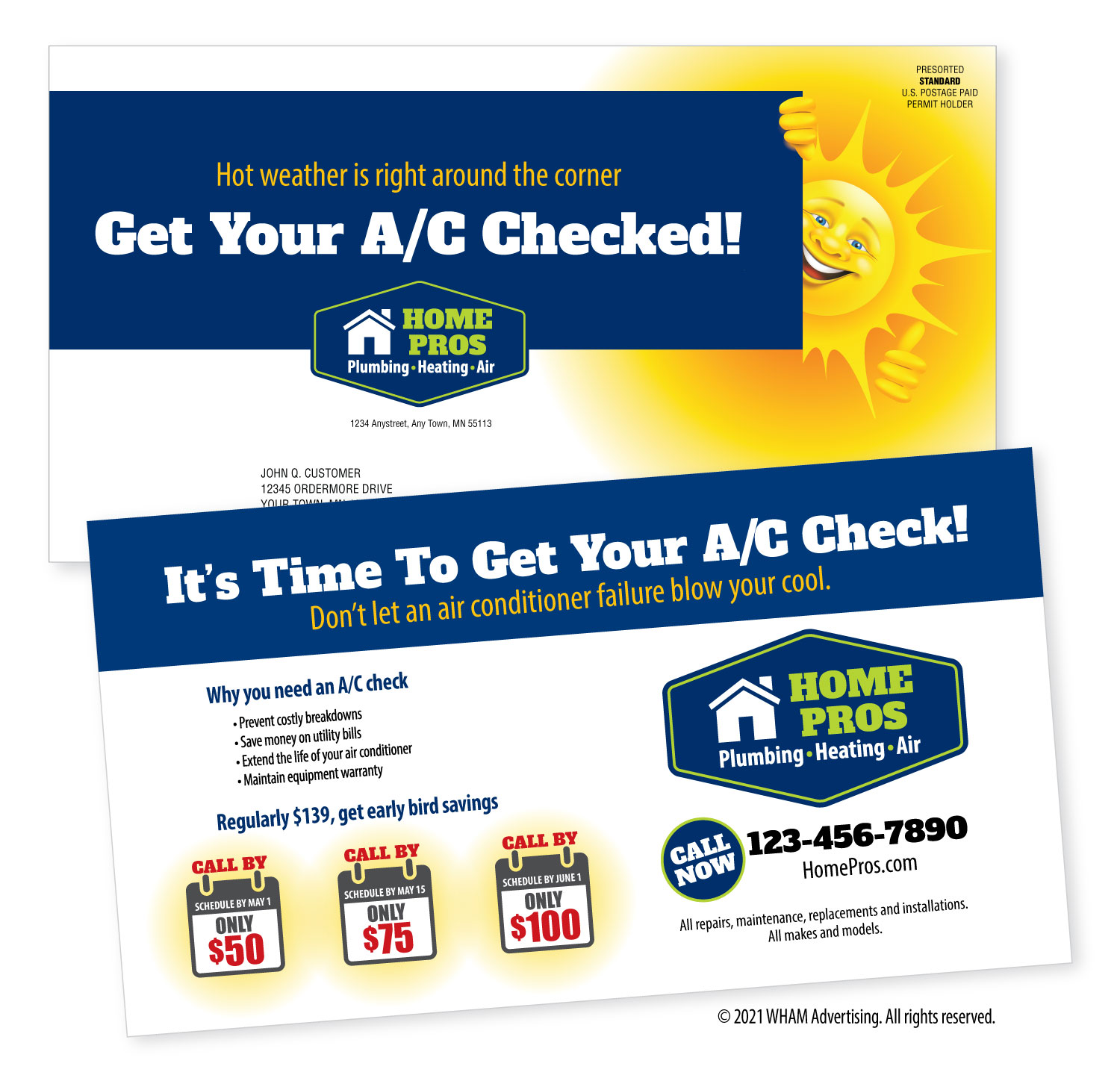 A/C Check, Hot Weather's Right Around The Corner